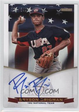 2012 Panini USA Baseball National Team - 18U National Team Signatures #BB - Bryson Brigman /349