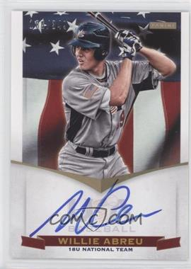 2012 Panini USA Baseball National Team - 18U National Team Signatures #WA - Willie Abreu /349
