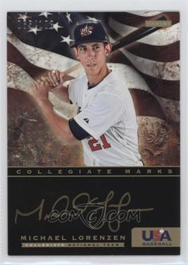2012 Panini USA Baseball National Team - Collegiate National Team Collegiate Marks #13 - Michael Lorenzen /100