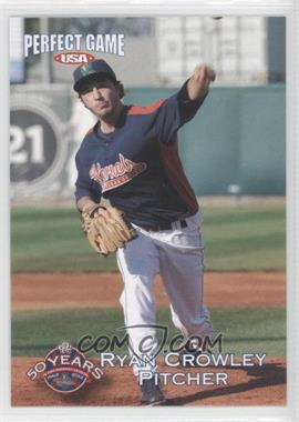 2012 Perfect Game USA Cedar Rapids Kernels - [Base] #3 - Ryan Crowley