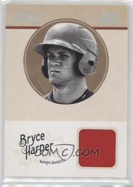 2012 Playoff Prime Cuts - [Base] - Century Silver #10 - Bryce Harper /49