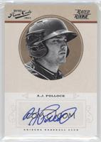 Rookie Signature - A.J. Pollock /149