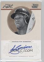 Rookie Signature - Andrelton Simmons /199