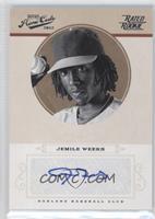 Rookie Signature - Jemile Weeks #/149