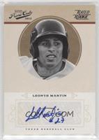 Rookie Signature - Leonys Martin #/199