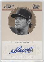 Rookie Signature - Martin Perez /99