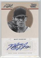 Rookie Signature - Matt Harvey /199