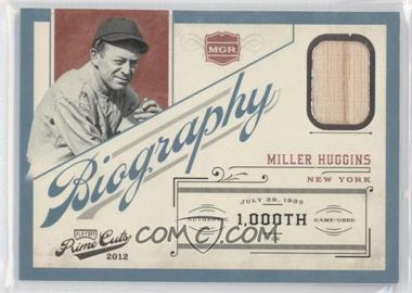 2012 Playoff Prime Cuts - Biography #16 - Miller Huggins /99