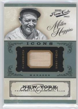 2012 Playoff Prime Cuts - Icons - Bats #39 - Miller Huggins /99