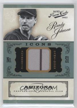 2012 Playoff Prime Cuts - Icons #19 - Randy Johnson /99