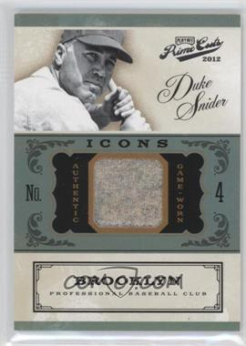 2012 Playoff Prime Cuts - Icons #9 - Duke Snider /99