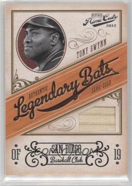 2012 Playoff Prime Cuts - Legendary Bats #25 - Tony Gwynn /99