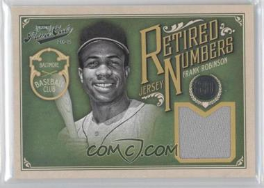 2012 Playoff Prime Cuts - Retired Jersey Numbers #20 - Frank Robinson /20