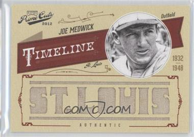 2012 Playoff Prime Cuts - Timeline - Custom City Materials [Memorabilia] #27 - Joe Medwick /5