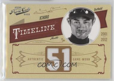 2012 Playoff Prime Cuts - Timeline - Jersey Number Materials [Memorabilia] #23 - Ichiro /51