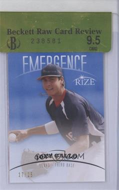 2012 Rize - Emergence - Blue #EM-8 - Joey Gallo /25