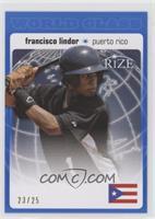 Francisco Lindor /25