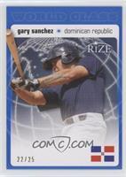 Gary Sanchez #/25