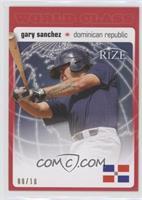 Gary Sanchez #/10