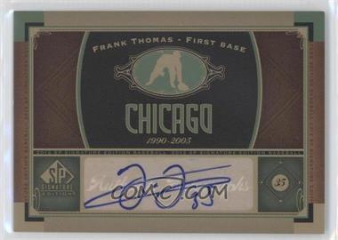 2012 SP Signature Collection - [Base] - [Autographed] #CHW 2 - Frank Thomas