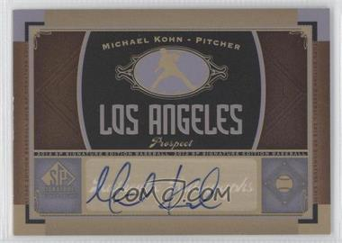 2012 SP Signature Collection - [Base] - [Autographed] #LAA 4 - Michael Kohn