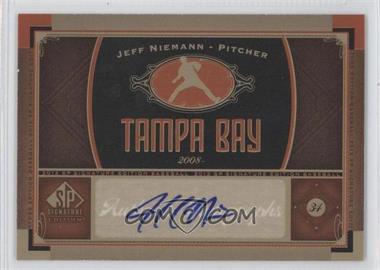 2012 SP Signature Collection - [Base] - [Autographed] #TB 3 - Jeff Niemann