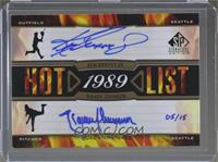 Ken Griffey Jr., Randy Johnson /15