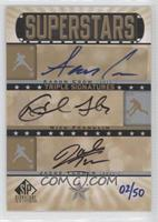 Aaron Crow, Nick Franklin, Jacob Turner /50