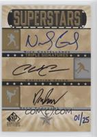 Nick Castellanos, Drew Pomeranz, Christian Colon /25