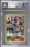 Mike Trout [BGS 9 MINT]