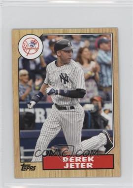 2012 Topps - 1987 Topps Minis #TM-16 - Derek Jeter