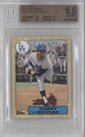 Sandy Koufax [BGS 9.5 GEM MINT]