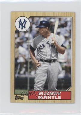 2012 Topps - 1987 Topps Minis #TM-96 - Mickey Mantle