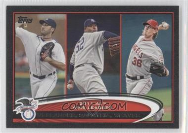 2012 Topps - [Base] - Black #319 - Jered Weaver /61