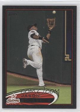 2012 Topps - [Base] - Black #321 - Jason Bourgeois /61