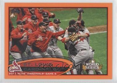 2012 Topps - [Base] - Factory Set Orange #233 - St. Louis Cardinals Team /190