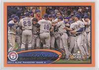 Texas Rangers Team /190