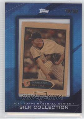 2012 Topps - [Base] - Framed Silk Collection #MARI - Mariano Rivera /50