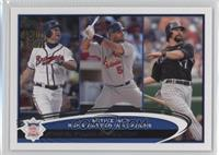 Albert Pujols, Todd Helton, Chipper Jones