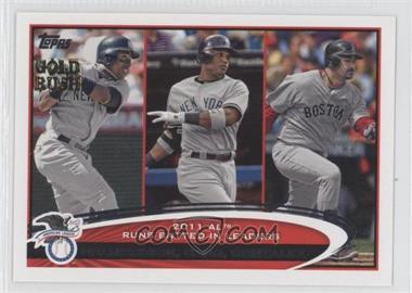 2012 Topps - [Base] - Gold Rush Stamp #33 - Curtis Granderson, Adrian Gonzalez, Robinson Cano