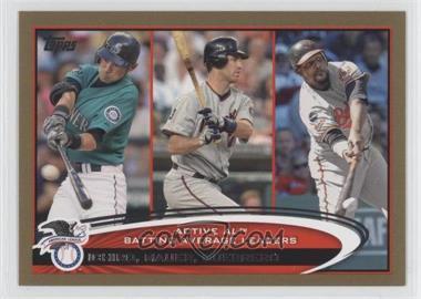2012 Topps - [Base] - Gold #119 - Ichiro Suzuki, Vladimir Guerrero, Joe Mauer /2012