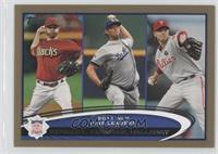 Ian Kennedy, Clayton Kershaw, Roy Halladay /2012
