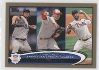 Clayton Kershaw, Roy Halladay, Cliff Lee /2012