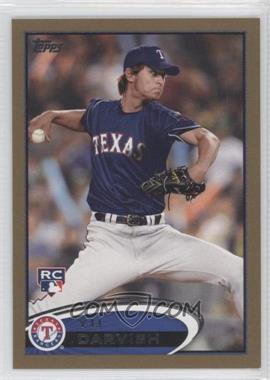 2012 Topps - [Base] - Gold #660 - Yu Darvish /2012