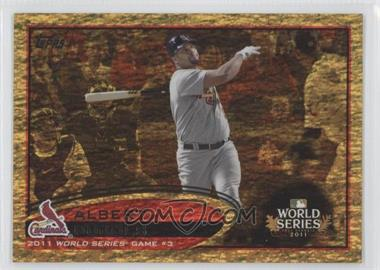 2012 Topps - [Base] - Golden Moments Parallel #108 - Albert Pujols