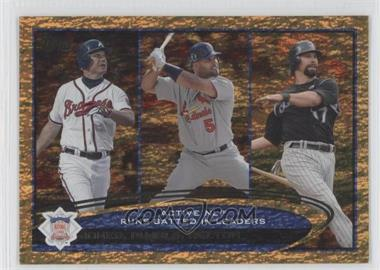 2012 Topps - [Base] - Golden Moments Parallel #159 - Albert Pujols, Todd Helton, Chipper Jones
