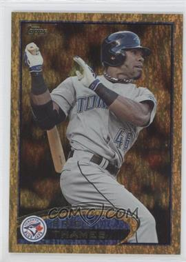 2012 Topps - [Base] - Golden Moments Parallel #293 - Eric Thames