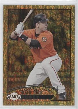 2012 Topps - [Base] - Golden Moments Parallel #398 - Buster Posey