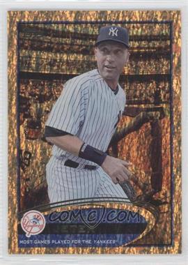 2012 Topps - [Base] - Golden Moments Parallel #641 - Derek Jeter