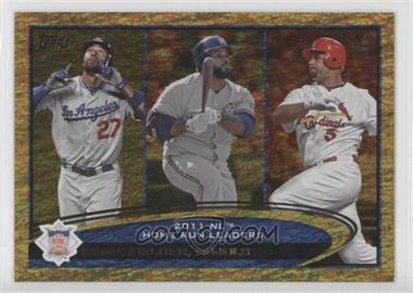 2012 Topps - [Base] - Golden Moments Parallel #77 - Matt Kemp, Prince Fielder, Albert Pujols